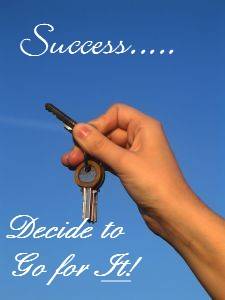 key to success, making decisions, make a decision, success, decide